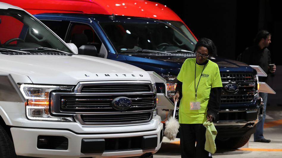 Big is beautiful: In den USA bevorzugen viele Kunden große Pickups und SUVs. Nach dem Lockdown holten sie im Sommer offenbar ihre Käufe nach und bescherten Ford einen Quartalsgewinn.