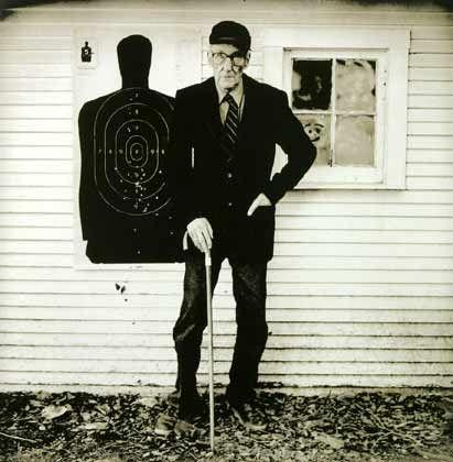 William S. Burroughs: Der Pop-Autor der Sechziger, hier vier Jahre vor seinem Tod (1993)