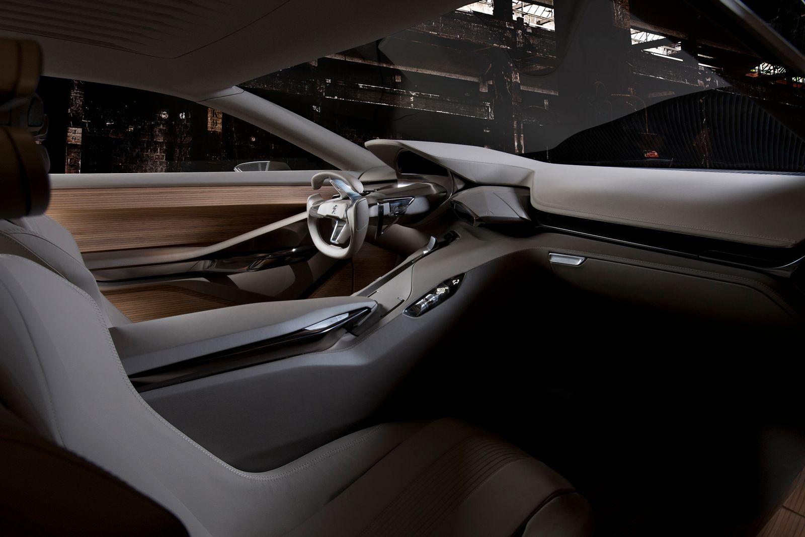 Peugeot HX1 / Innenraum