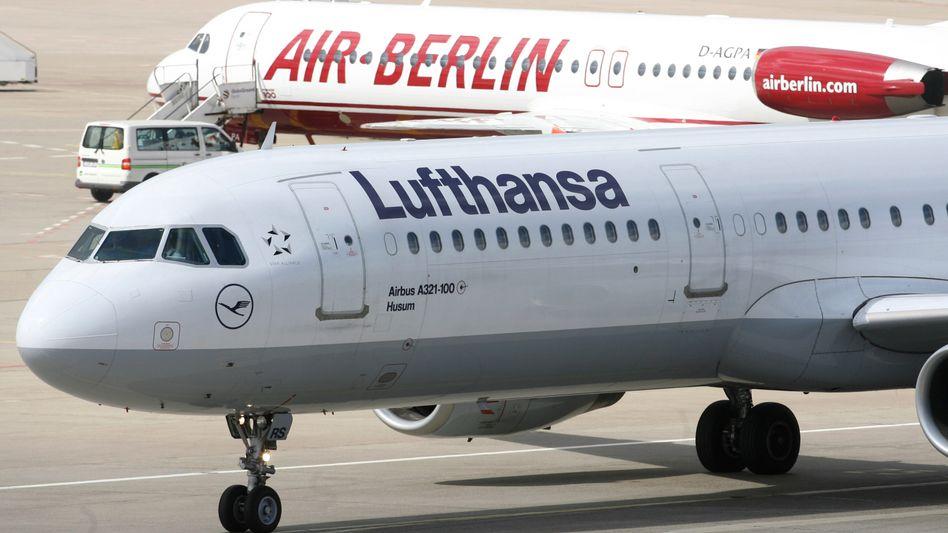 Die Integration der 77 Air-Berlin-Maschinen hat länger gedauert und wird die Lufthansa auch weiter Geld kosten