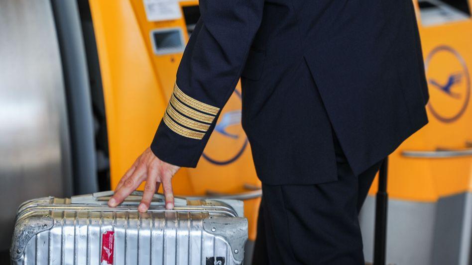 Luftahnsa-Pilot