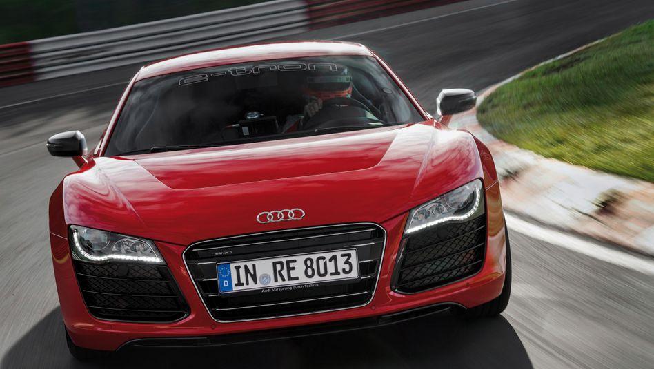 Audi R8: Als Elektro-Flitzer wird der Wagen nun doch nicht in Serie gehen