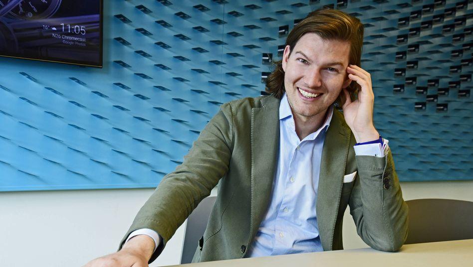 Bankdirektor der Onlinewelt: Valentin Stalf hat mit einem Schulfreund die Digitalbank N26 aufgebaut. Auf klassische Tugenden wie Sicherheit und Verlässlichkeit hat er zeitweise verzichtet.