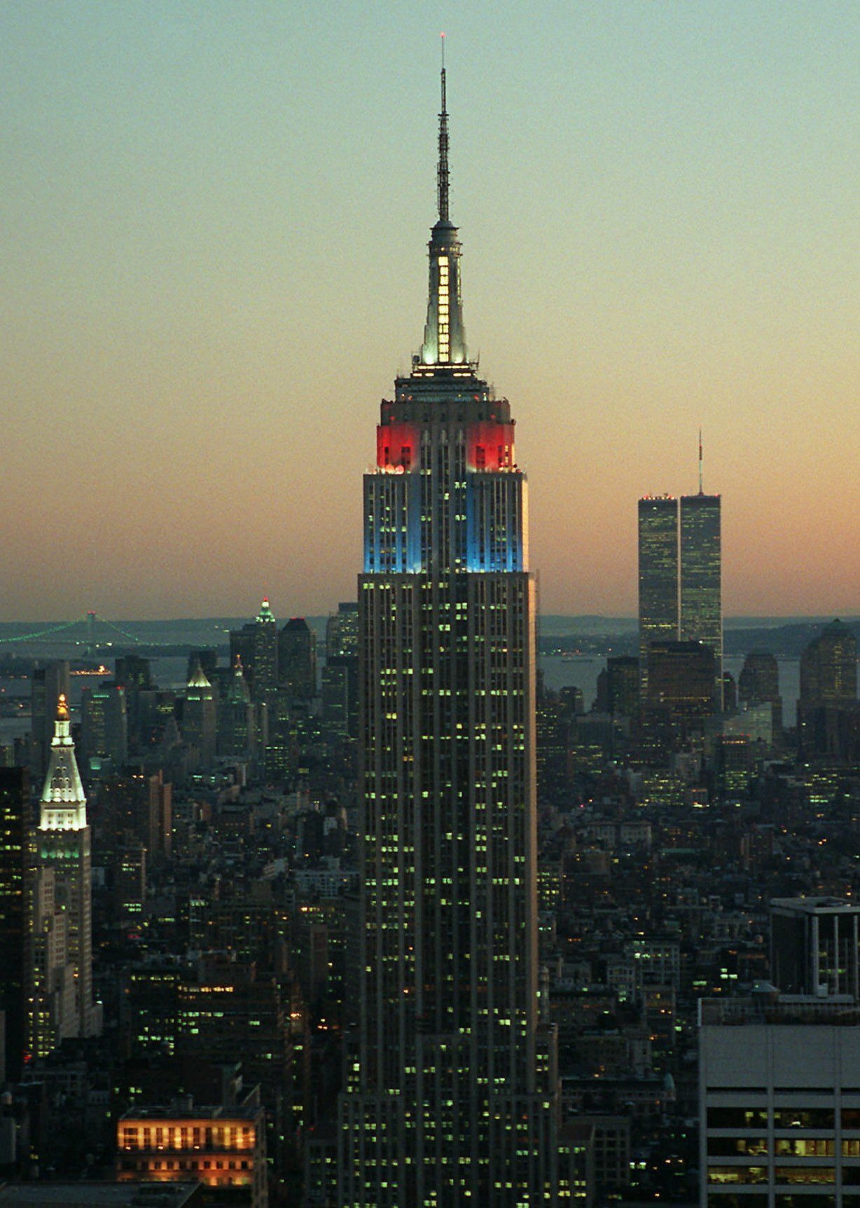 EINMALIGE VERWENDUNG et Empire State Building