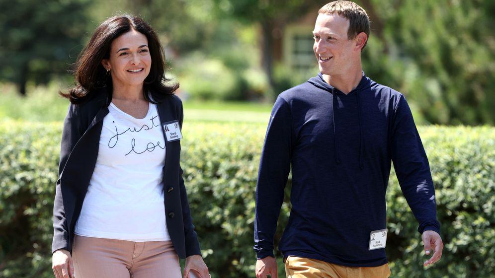 Show-Paar: Mark Zuckerberg und Sheryl Sandberg inszenierten kurz vor dem Erscheinen des Buchs ihre Einigkeit