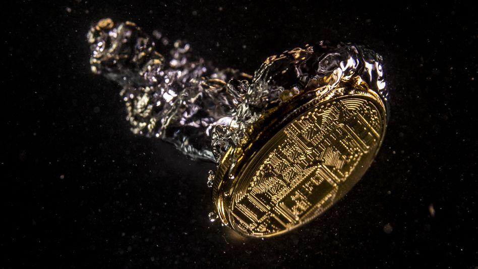Bitcoin-Schmuckmünze (Symbolbild)