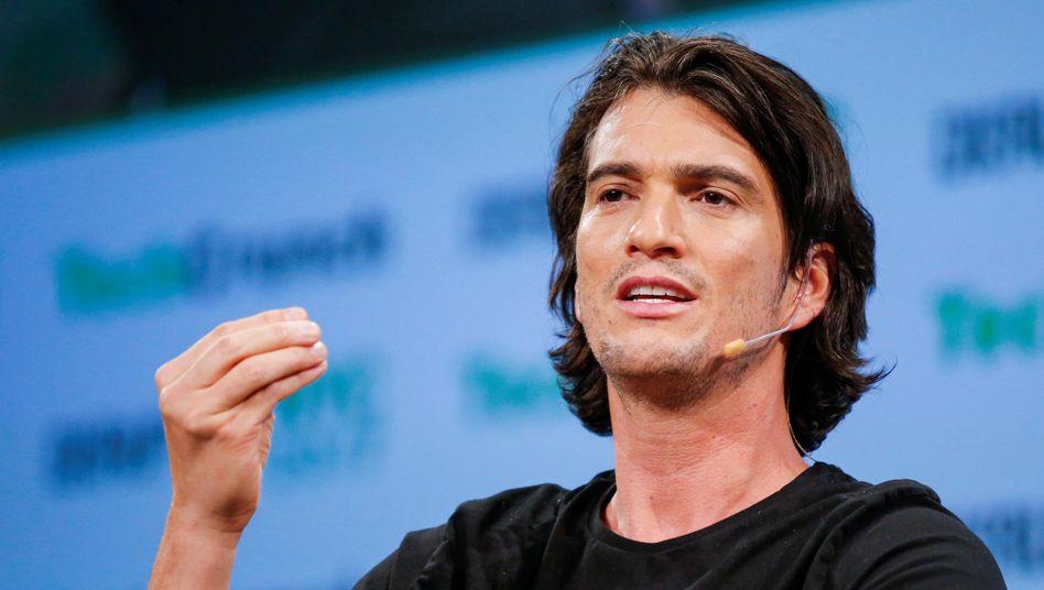 Das Verhalten von WeWork-Gründer Adam Neumann irritiert potentielle Investoren
