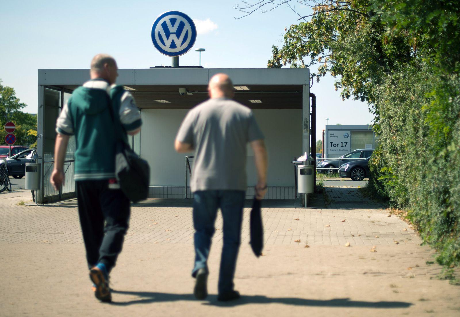 Volkswagen / Arbeiter / Werk Wolfsburg