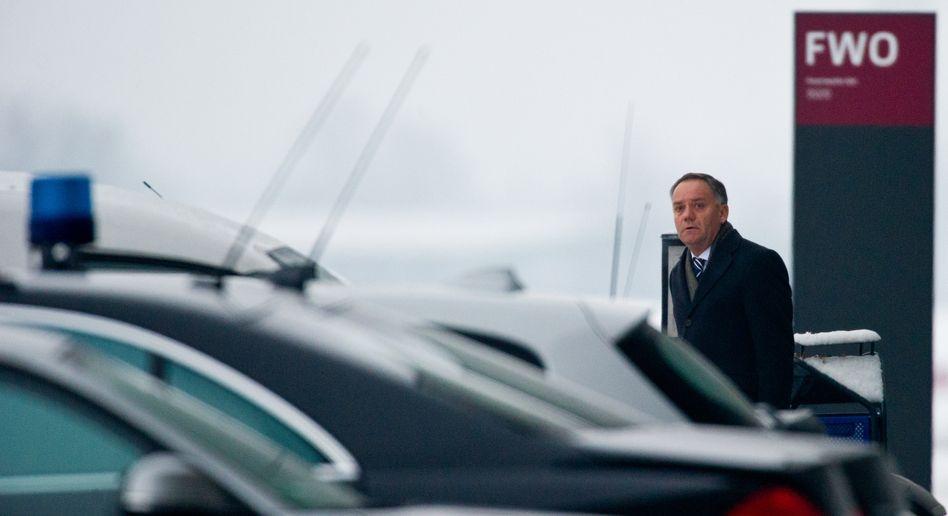 Muss gehen: Ex-Flughafenchef Rainer Schwarz