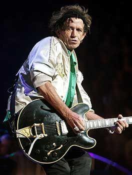 Keith Richards: Auf die Haare kommt es nicht mehr an