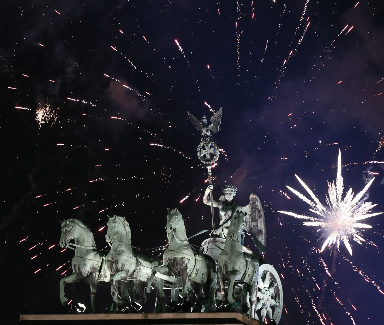 New year celebrations in Berlin