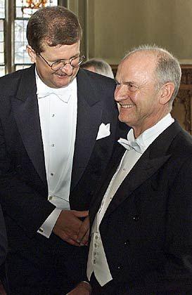 Der Mächtige und sein Manager: So erfolgreich Wendelin Wiedeking (l.) die Porsche AG auch lenkt, am Ende entscheiden Ferdinand Piëch und der Rest der Autosippe