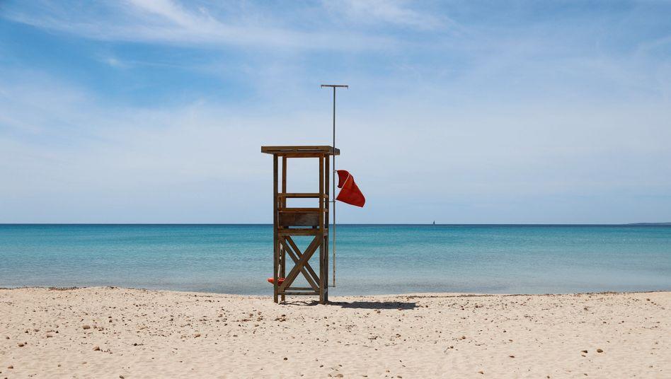 Schwimmen verboten: Die Corona-Krise verschreckt weltweit viele Touristen