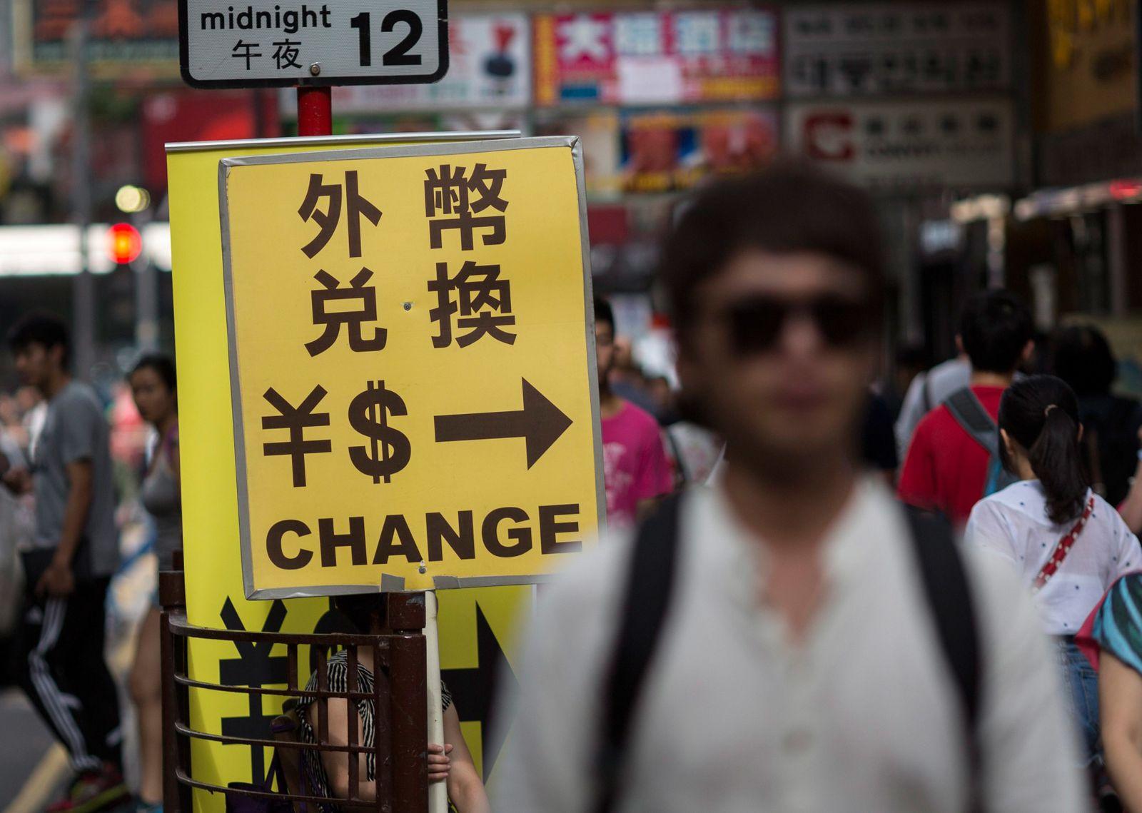 Yuan - Dollar / Währung China