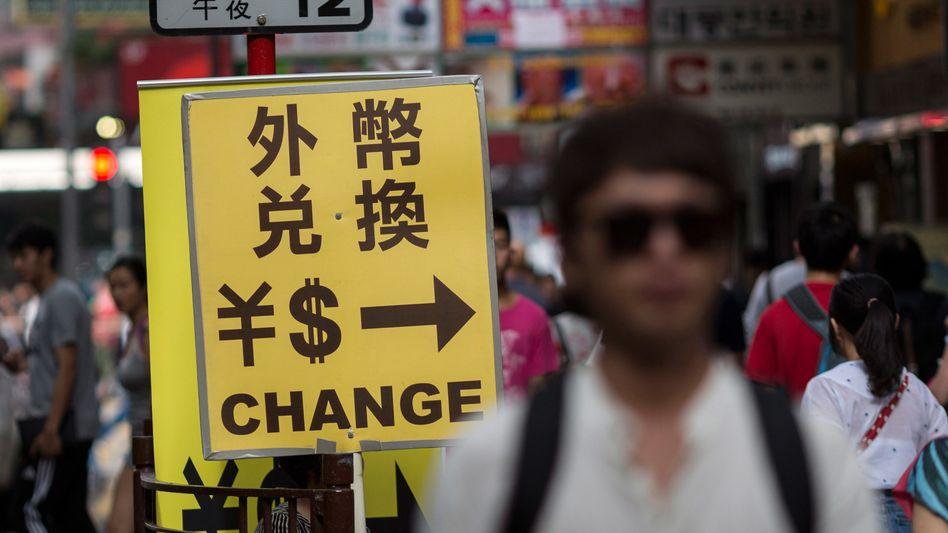 Abwertung: Chinesischer Yuan erreicht Niveau von 2008