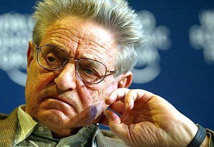 US-Investor George Soros: Geschäft mit der Gewerkschaftsholding?