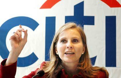 Ehrgeizig: Ex-Citibank-Lenkerin Christine Licci