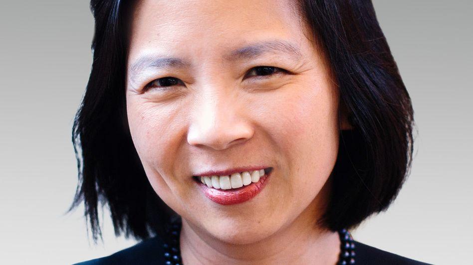 Soll Bayer bei der großen Transformation helfen: Die Informatikerin Sarena Lin hat an der Harvard University studiert