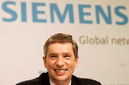 Hart in der Sache:Siemens-Chef Kleinfeld