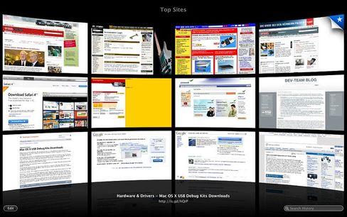 Internetwege: Apple bietet seit 2003 den Browser Safari an