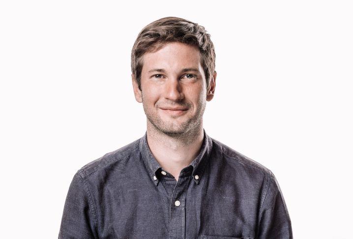 Einer der drei Mitte-Gründer: CEO Moritz Waldstein