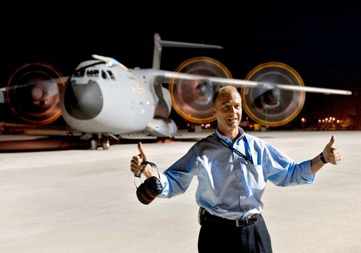 Airbus-Chef Tom Enders: Als der Eurofighter-Auftrag erteilt wurde, war er Chef der Rüstungssparte
