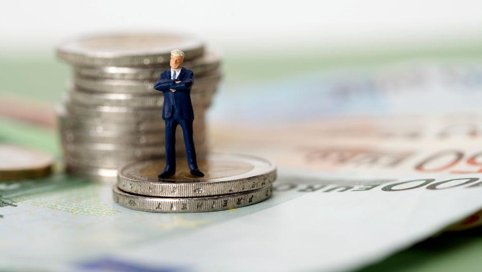 Krisenzeit: Nach mehreren Jahrzehnten des Kreditbooms befindet sich das Finanzsystem an die Grenze des Zusammenbruchs