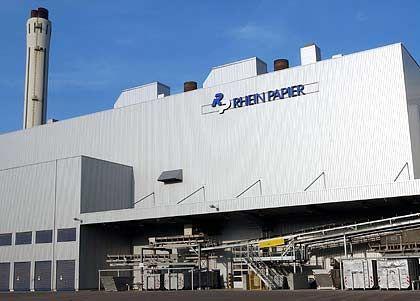 280.000 Tonnen Papier im Jahr: Rheinpapier in Hürth