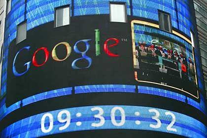 Google nach dem Börsengang: Kriegskasse prall gefüllt