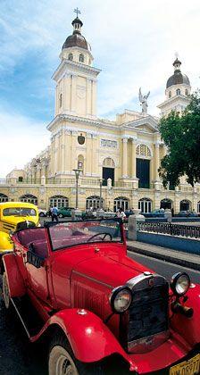 Kolonialarchitektur: Die Kathedrale von Santiago de Cuba, der heimlichen Hauptstadt der Insel