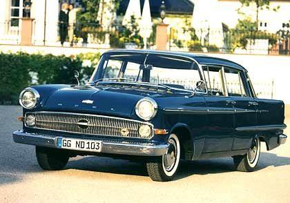 Mit Heckflossen: Opel Kapitän der 50er Jahre