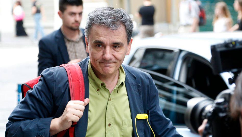 Ministerkandidat Tsakalotos: Gleichbehandlung unter Gleichen