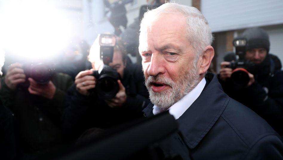 Labour-Chef Jeremy Corbyn: Sein Misstrauensvotum gegen Theresa May scheiterte.