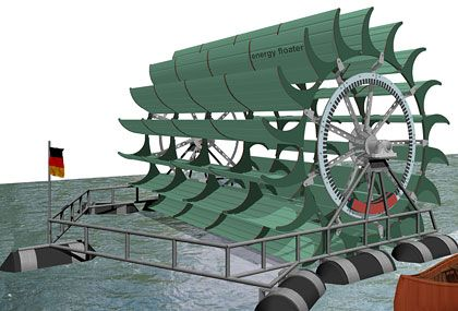 Flussmühle: Renaissance eines Motors der Industrialisierung