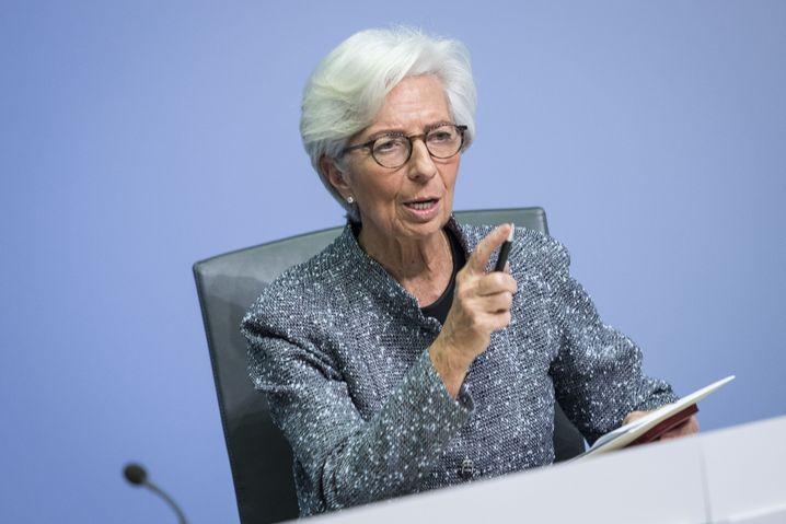 EZB-Präsidentin Christine Lagarde: Bringt das Eingreifen der Notenbanken etwas?