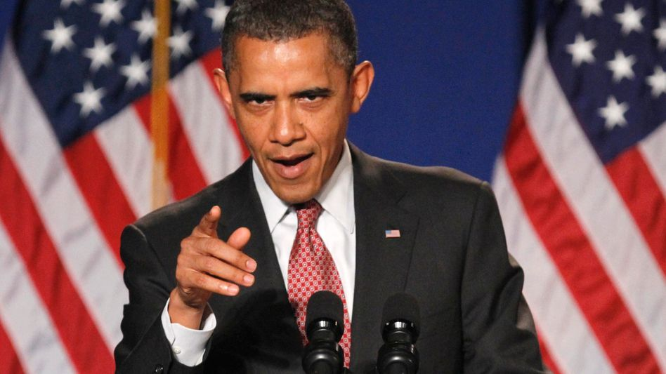 US-Präsident Barack Obama Europas Schuldenkrise bedrohe die Vereinigten Staaten