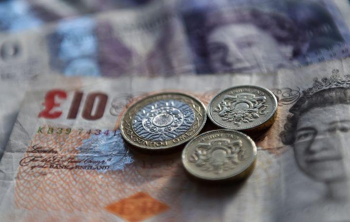 Billig dank Brexit: Dem britischen Pfund wird ein Kursrutsch für den Fall des EU-Austritts vorausgesagt