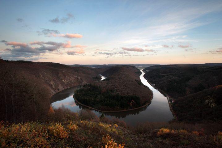 Ein Traum für Fotografen: Die Saarschleife