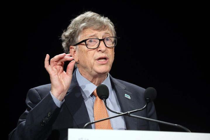 """Bill Gates (Archivbild): Die """"Forbes""""-Macher schätzen das Vermögen des Microsoft-Gründers auf 124 Milliarden Dollar"""