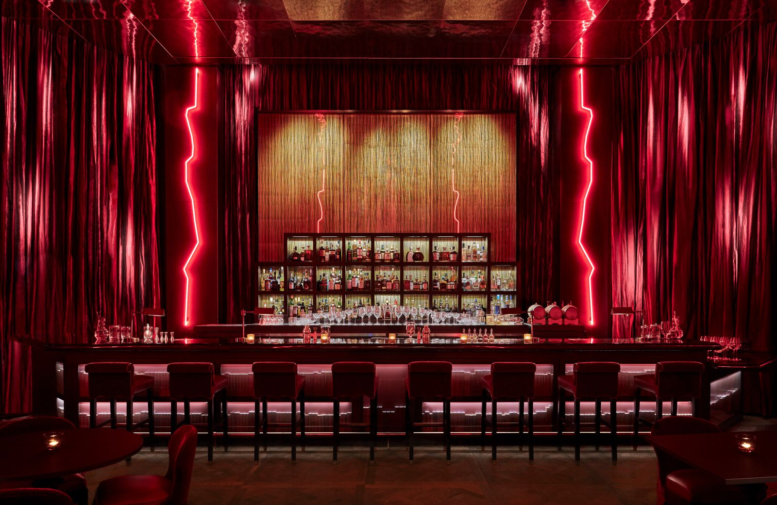 Cut Lounge im Four Seasons Downtown, New York City