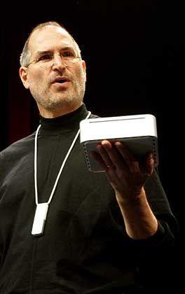 Auf ins Billigsegement: Apple-Chef Jobs zeigt den Mac mini