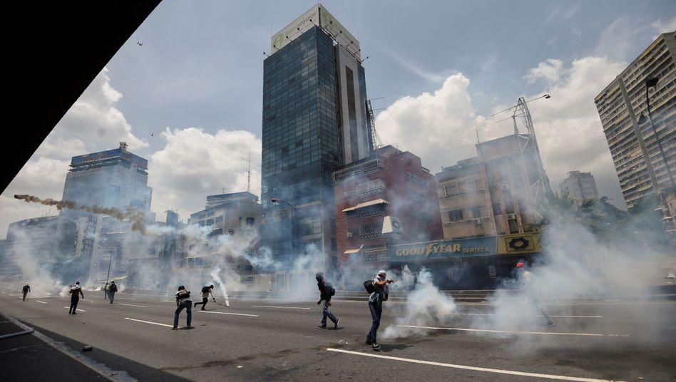 Proteste in Venezuela: Verletzte und Todesopfer