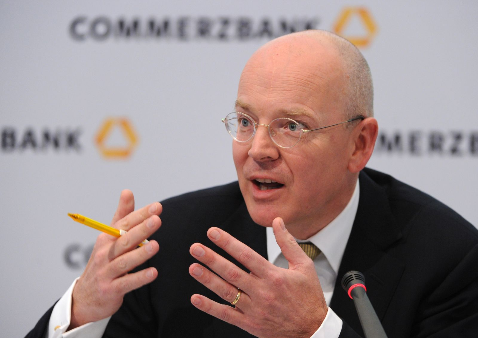 Bilanz-PK Commerzbank AG