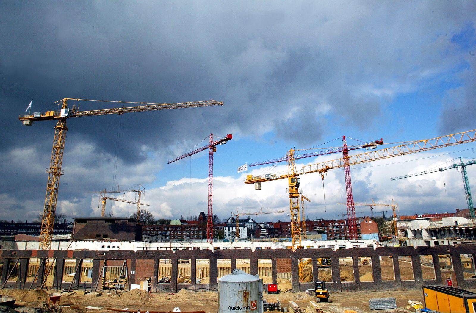 NICHT VERWENDEN Hausbau / Wohnungsbau / Konjunktur