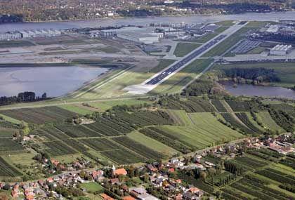 Startbahn in Neuenfelde: Gordischer Knoten durchtrennt