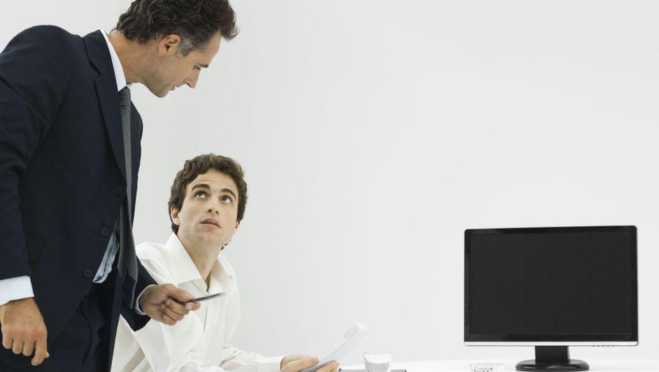 Schlechte Stimmung: Die Manager beurteilten sowohl die aktuelle Lage als auch die Aussichten schlechter als im Vormonat