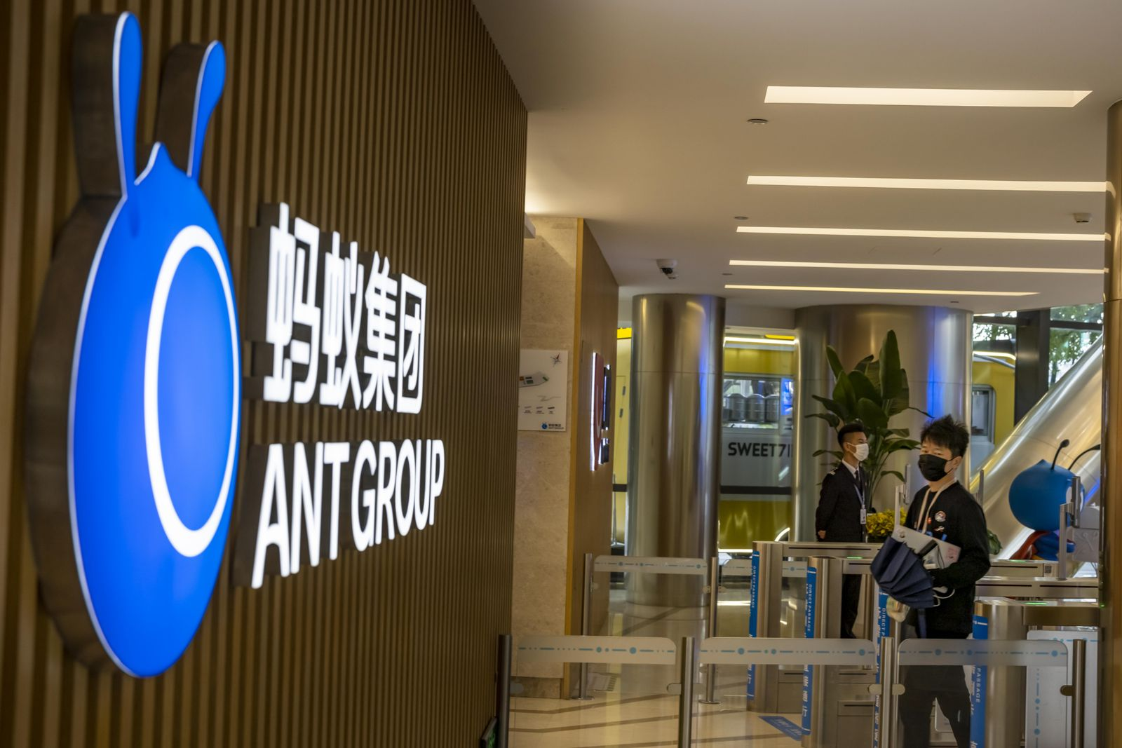 Ant Group IPO postponed, Hangzhou, China - 27 Sep 2020