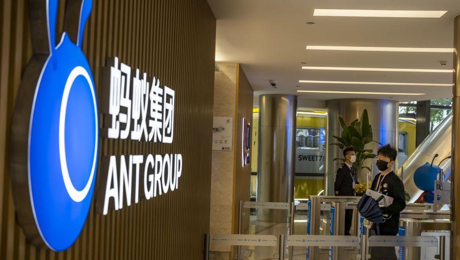 Später und mit einer deutlich niedrigeren Bewertung: Ant Financial (im Bild die Zentrale in Hangzhou, China) muss erst mal den Börsenprospekt neu erstellen