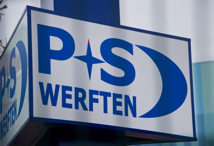 P+S Werft in Stralsund: Auch hier ermittelt die Staatsanwaltschaft wegen Insolvenzverschleppung