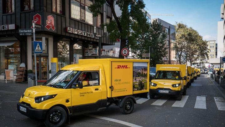 StreetScooter: Die elektrische Post auf Rädern